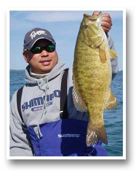 Traverse City Bass Fishing Guide Service